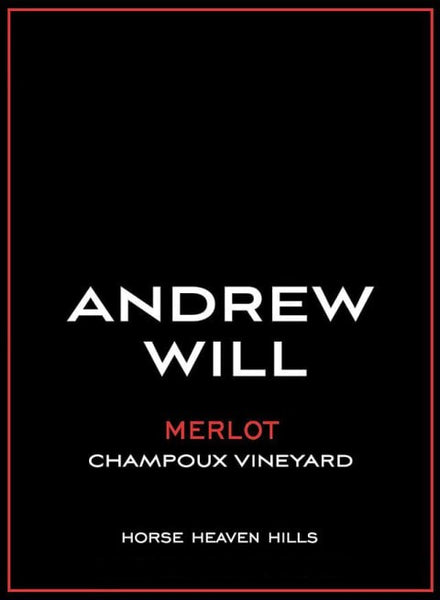 Andrew Will Champoux Vineyard Merlot 2018