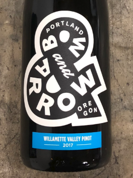 Bow & Arrow Willamette Valley Pinot noir 2018