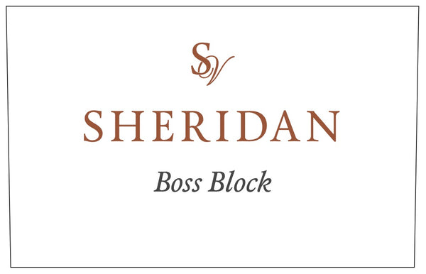 Sheridan Vineyard Boss Block 2017
