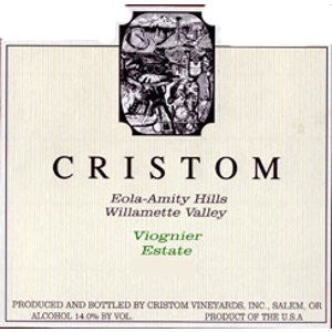 Cristom Willamette Valley Viognier 2014