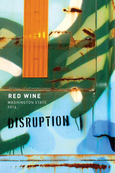 Disruption Wine Co. Red Wine 2016