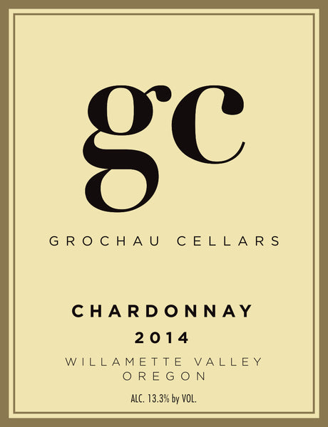 Grochau Cellars Willamette Valley Chardonnay 2014