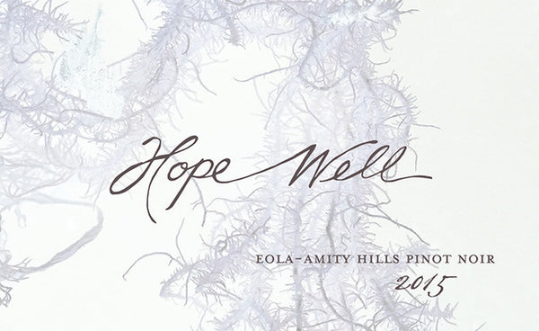 Hope Well Eola-Amity Hills Pinot noir 2017
