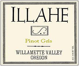 Illahe Estate Pinot gris 2018