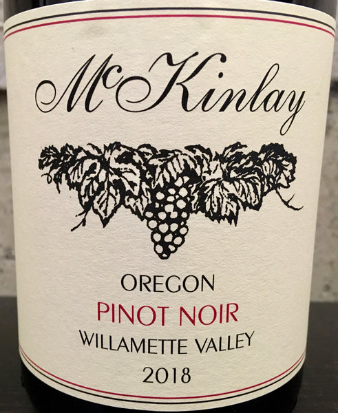 McKinlay Willamette Valley Pinot noir 2018