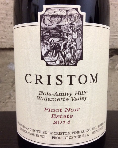 Cristom Estate Pinot noir 2014
