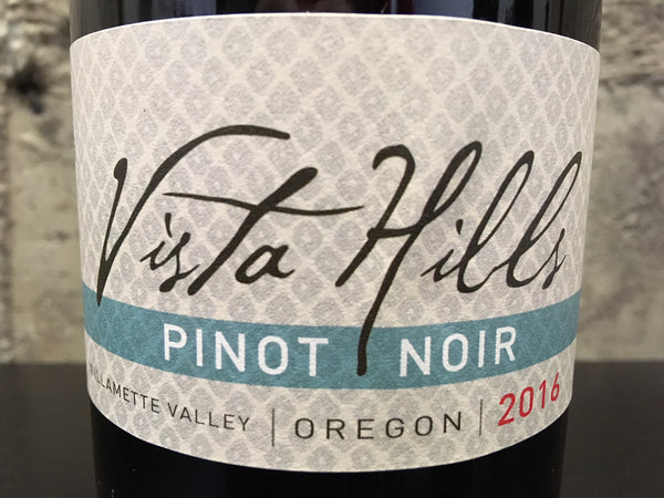 Vista Hills Willamette Valley Pinot noir 2016