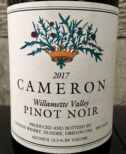 Cameron Willamette Valley Pinot noir 2017