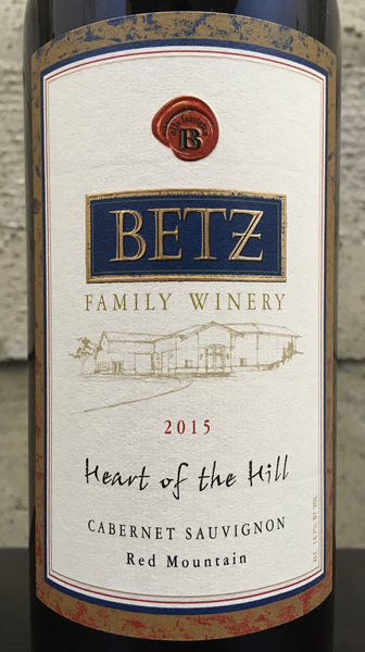Betz Heart of the Hill Cabernet Sauvignon 2015