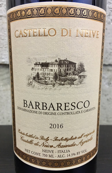 Castello di Neive Barbaresco 2016