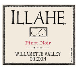 Illahe Willamette Valley Pinot noir 2017