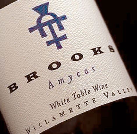 Brooks Amycas White blend 2015
