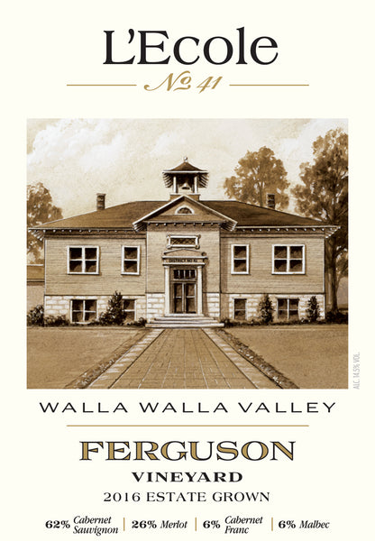 L'Ecole #41 Ferguson Vineyard Estate Red 2017