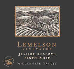 Lemelson Jerome Reserve Pinot noir 2013