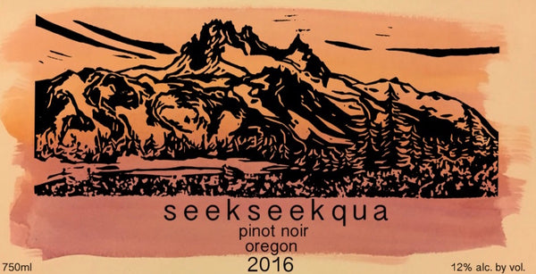 Seekseekqua Hope Well Vineyard Pinot noir 2016