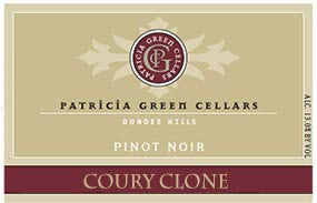 Patricia Green Cellars Freedom Hill Coury Clone Pinot Noir 2015