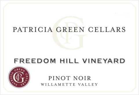 Patricia Green Cellars Freedom Hill Vineyard Pinot Noir 2018