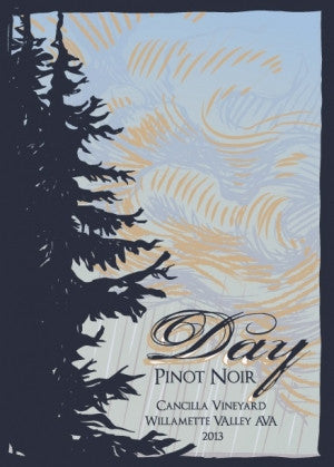 Day Cancilla Vineyard Pinot noir 2014