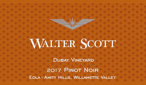 Walter Scott Dubay Vineyard Pinot noir 2017