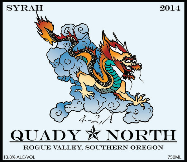 Quady North Syrah 4-2,A 2015