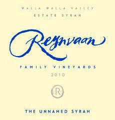 Reynvaan The Unnamed Syrah 2013