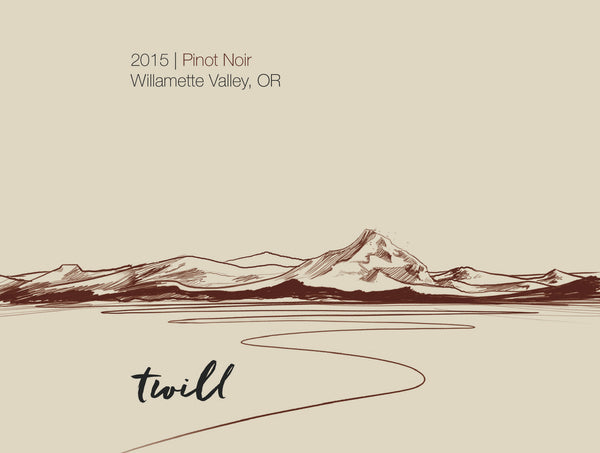Twill Cellars Willamette Valley Pinot noir 2016