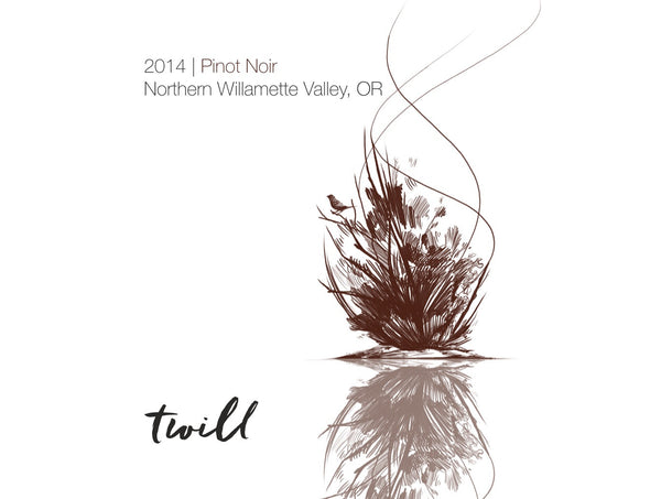 Twill Cellars Northern Willamette Valley Pinot noir 2014
