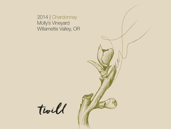 Twill Cellars Molly's Vineyard Chardonnay 2017