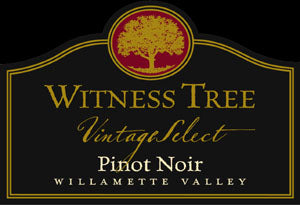 Witness Tree Vintage Select Pinot noir 2015