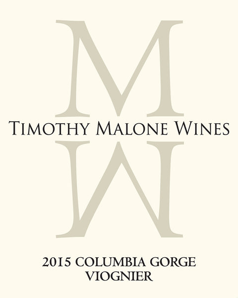 Timothy Malone Columbia Gorge Viognier 2017