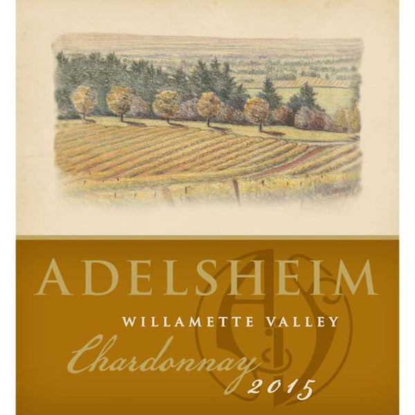 Adelsheim Willamette Valley Chardonnay 2015