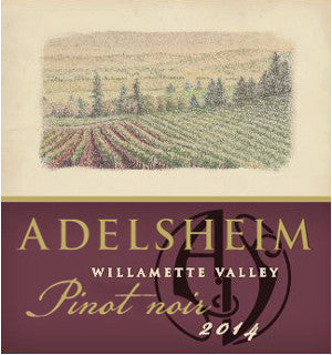 Adelsheim Willamette Valley Pinot noir 2016