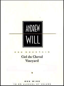 Andrew Will Ciel du Cheval Red 2012