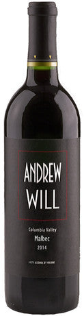 Andrew Will Columbia Valley Malbec 2014