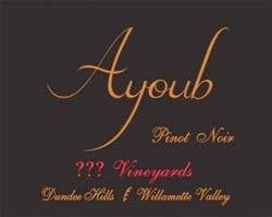Ayoub ??? Vineyards Pinot noir 2017