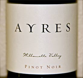 Ayres Willamette Valley Pinot noir 2015
