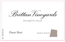 Brittan Vineyards Basalt Block 2015