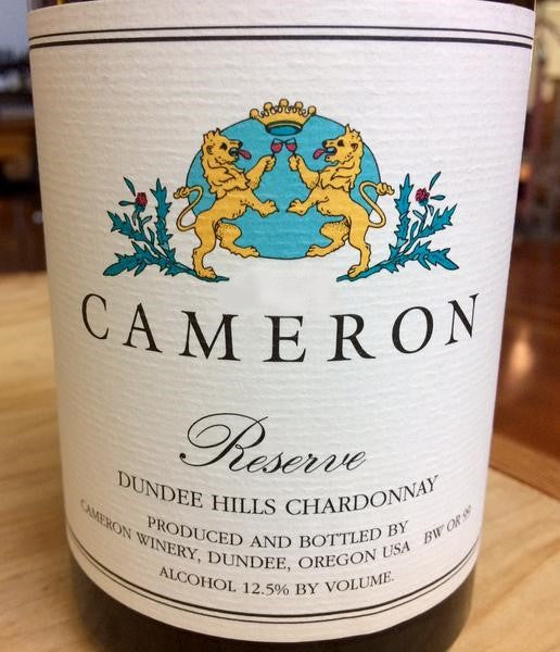 Cameron Reserve Dundee Hills Chardonnay 2016