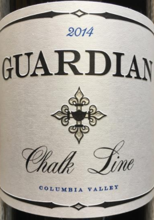Guardian Cellars Chalk Line Red 2016