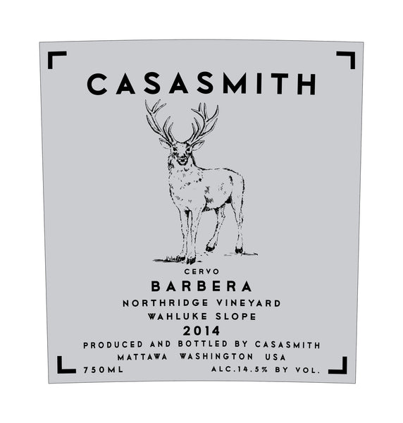 Casa Smith Barbera Cervo 2015