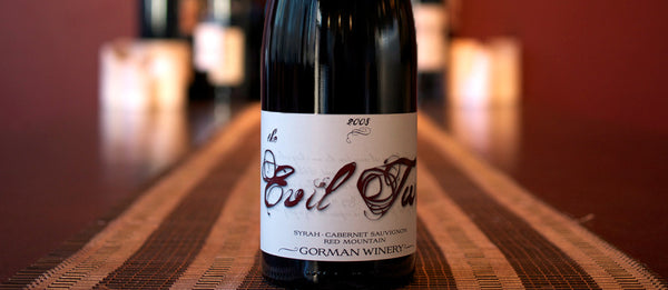 Gorman Evil Twin Syrah/Cabernet Sauvignon Red Mountain 2011