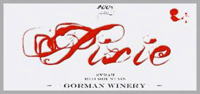 Gorman The Pixie Red Mountain Syrah 2013