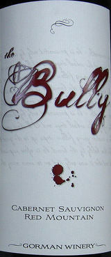 Gorman The Bully Cabernet Sauvignon 2014