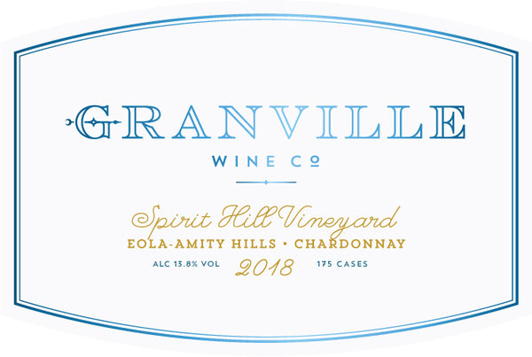 Granville Spirit Hill Vineyard Chardonnay 2018