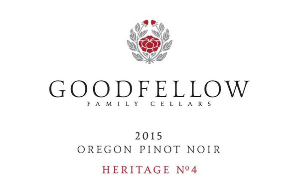 Goodfellow Family Cellars Heritage No. 4 Pinot noir 2015