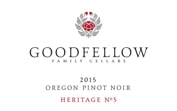 Goodfellow Family Cellars Heritage No. 8 Pinot noir 2016