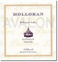 Holloran Le Pavillon Vineyard Pinot noir 2014