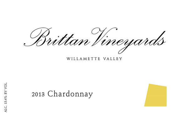 Brittan Vineyards Chardonnay 2015