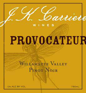 J.K. Carriere Provocateur Pinot noir 2017