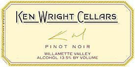 Ken Wright Cellars Willamette Valley Pinot noir 2016